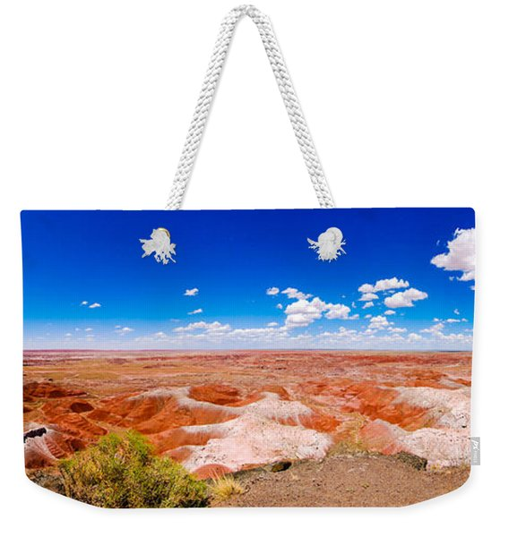 Painted Desert Panorama Weekender Tote Bag