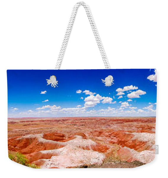 Painted Desert Wide Panorama Weekender Tote Bag
