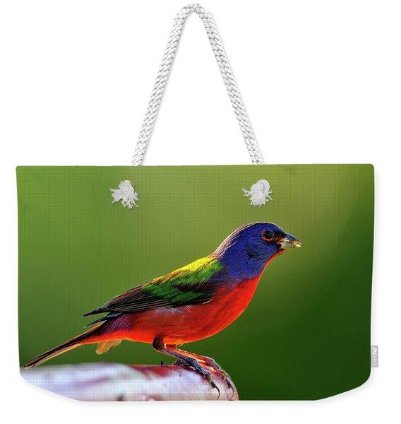Painting Color Weekender Tote Bag