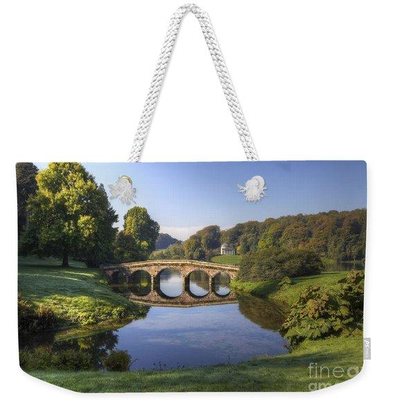 Palladian Bridge At Stourhead. Weekender Tote Bag