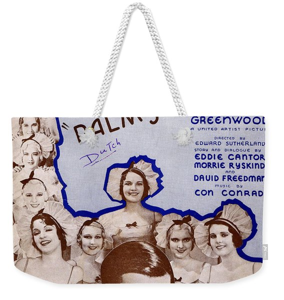 Palmy Days Weekender Tote Bag