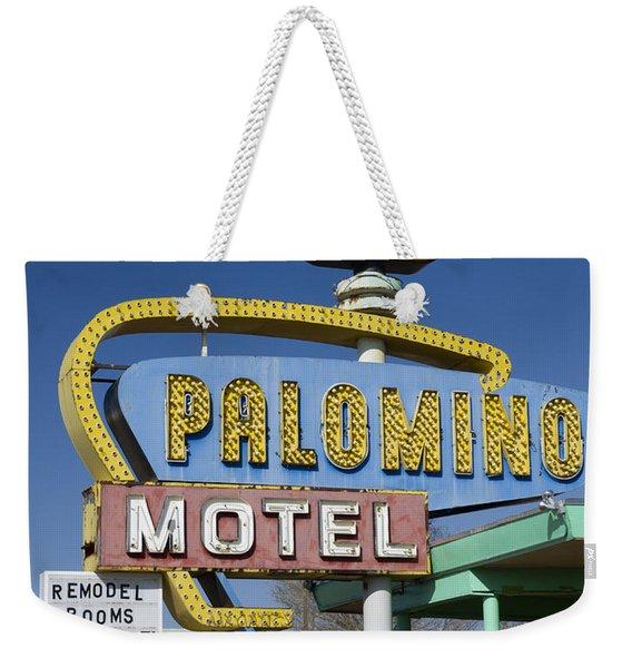 Palomino Motel Route 66 Weekender Tote Bag