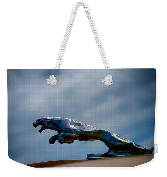 Panther Hoodie Weekender Tote Bag