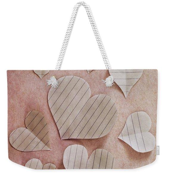 Papier D'amour Weekender Tote Bag