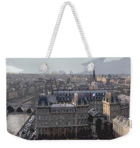 Paris 01 Weekender Tote Bag