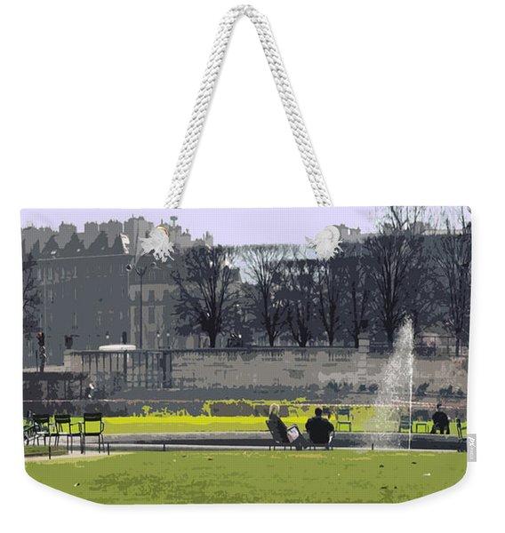 Paris 02 Weekender Tote Bag