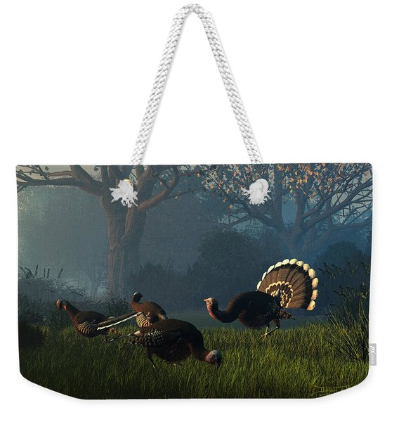 Party Of Four Weekender Tote Bag