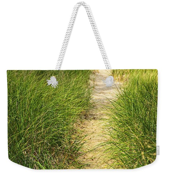 Path To Beach Weekender Tote Bag
