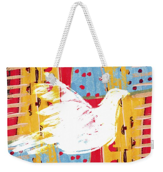 Peace Dove 2 Weekender Tote Bag