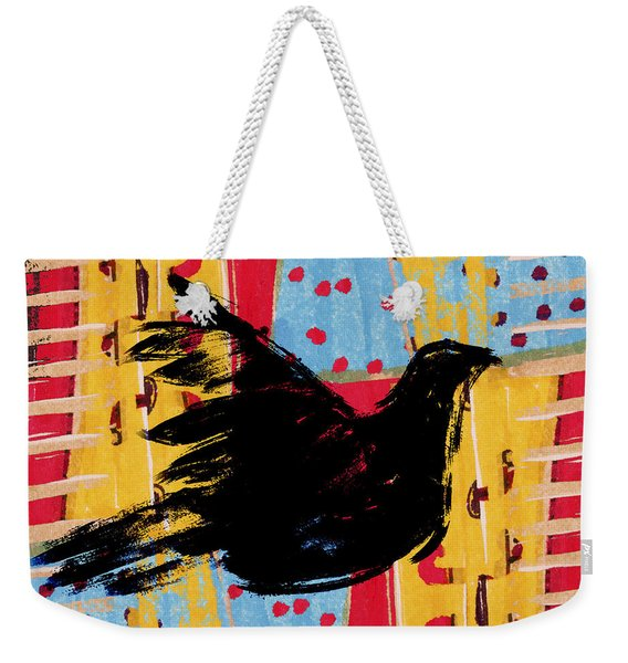 Peace Dove 3 Weekender Tote Bag