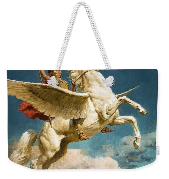Pegasus The Winged Horse Weekender Tote Bag