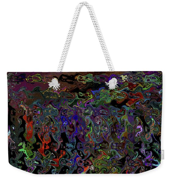 People And Faces In Different Lovely Color Places  Weekender Tote Bag