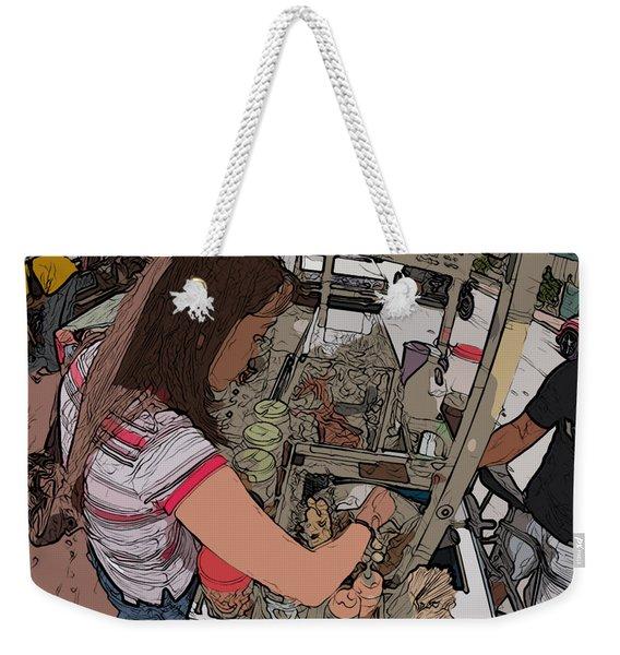 Philippines 91 Street Food Weekender Tote Bag