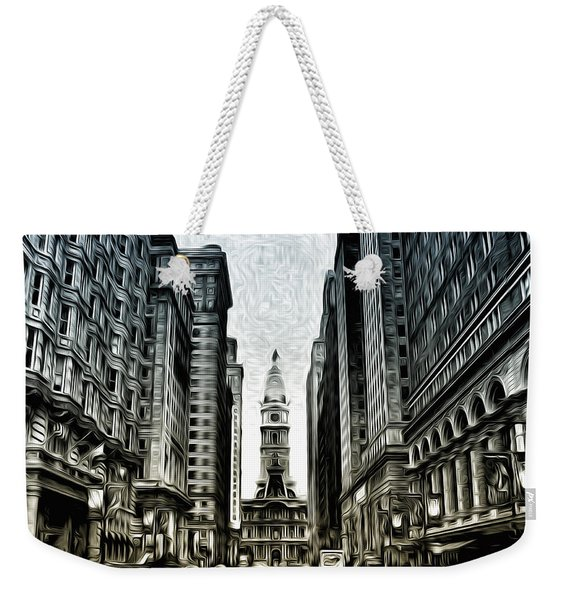 Philly - Broad Street Weekender Tote Bag
