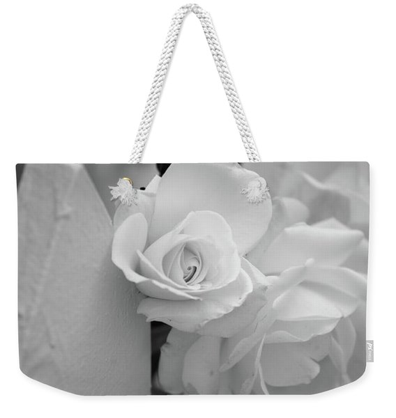 Picket Rose Weekender Tote Bag