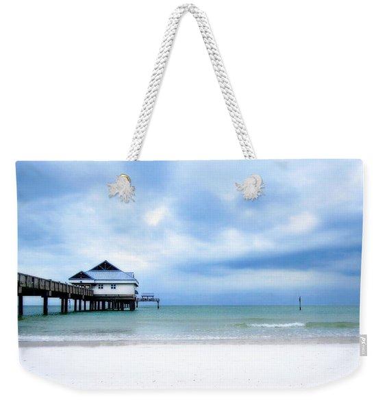 Pier 60 At Clearwater Beach Florida Weekender Tote Bag