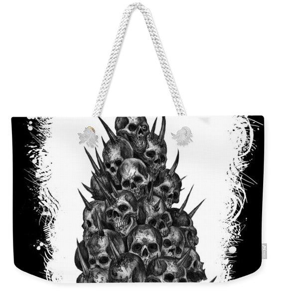 Pile Of Skulls Weekender Tote Bag