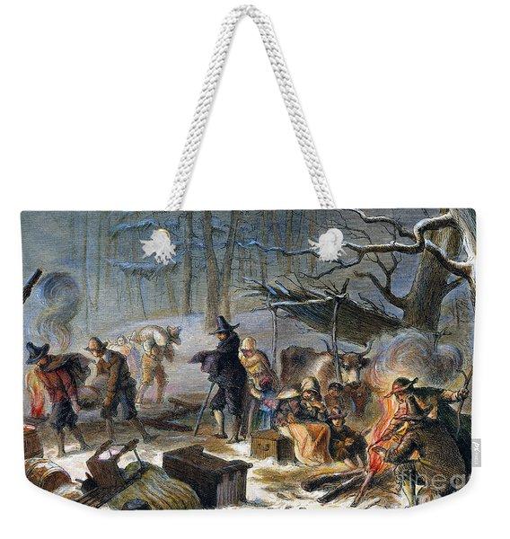 Pilgrims: First Winter, 1620 Weekender Tote Bag