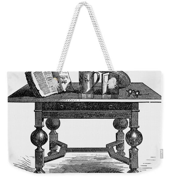 Pilgrims: Relics, C1620 Weekender Tote Bag