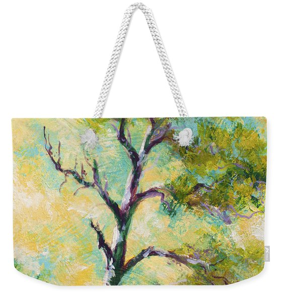 Pine Abstract Weekender Tote Bag