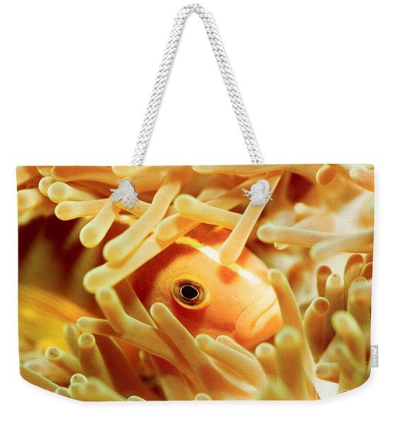 Pink Clownfish Weekender Tote Bag