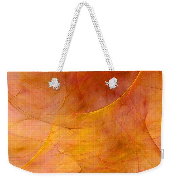 Poetic Emotions Abstract Expressionism Weekender Tote Bag
