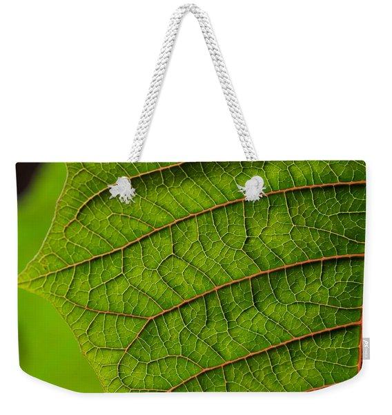 Poinsettia Leaf I Weekender Tote Bag