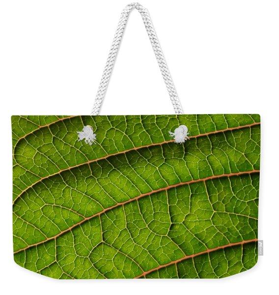 Poinsettia Leaf II Weekender Tote Bag