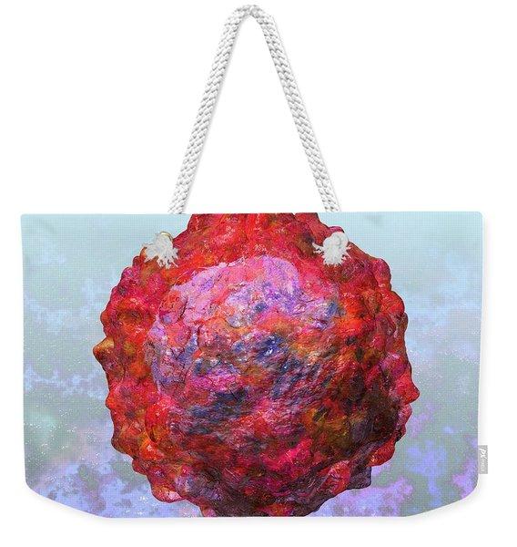 Polio Virus Particle Or Virion Poliovirus 2 Weekender Tote Bag