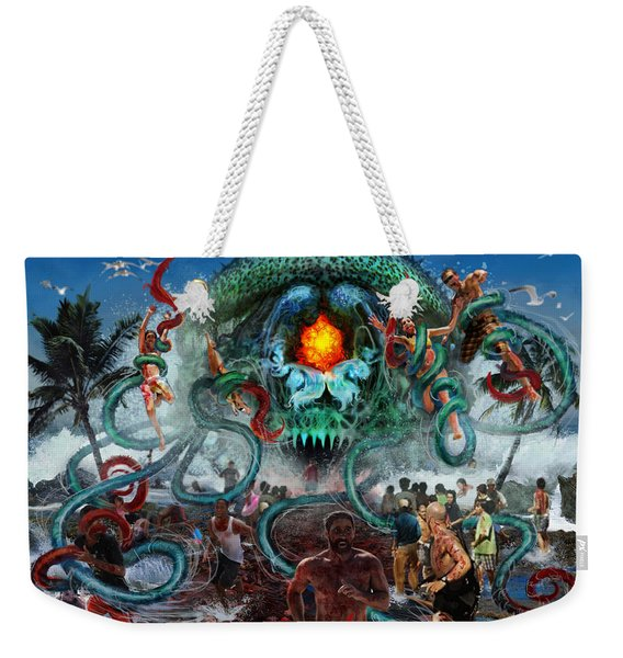Pollution Shall Thank You Weekender Tote Bag