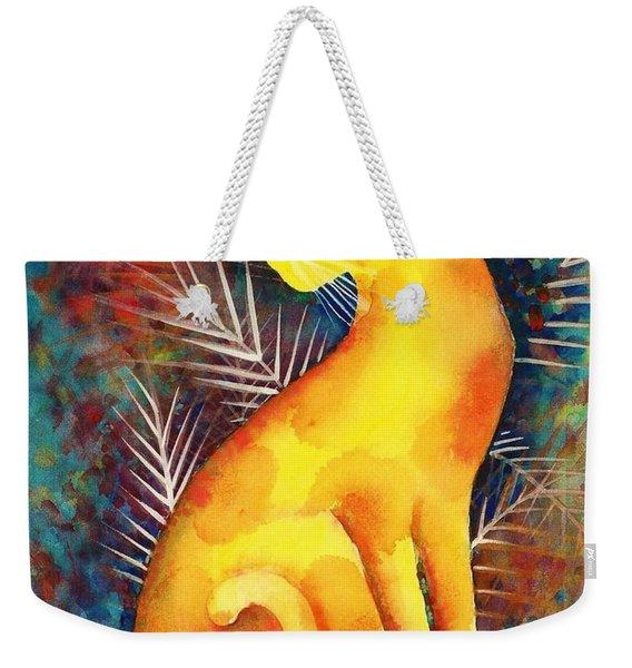 Popoki Hulali Weekender Tote Bag