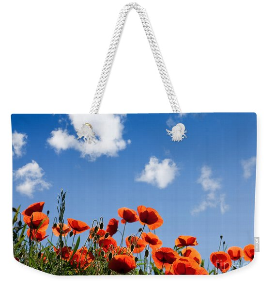 Poppy Flowers 05 Weekender Tote Bag
