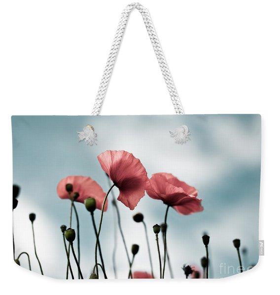 Poppy Flowers 07 Weekender Tote Bag