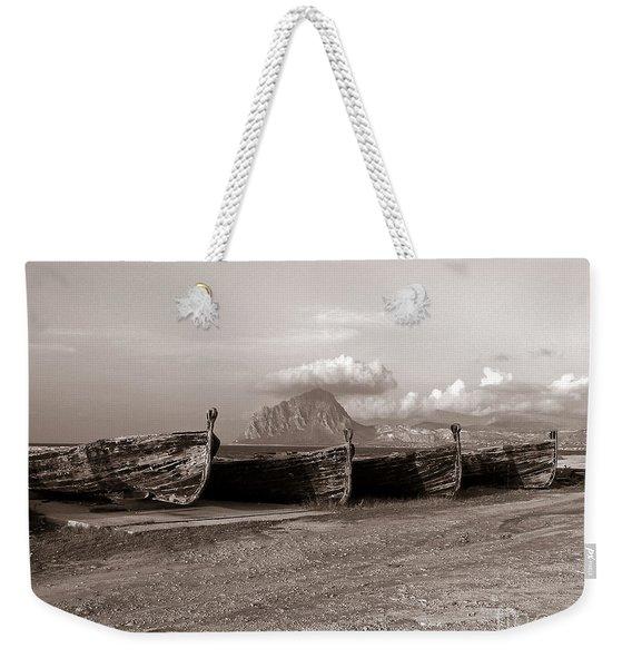Old Port Of Trapani Weekender Tote Bag