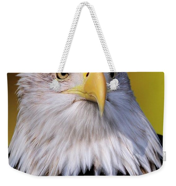Portrait Of A Bald Eagle Weekender Tote Bag