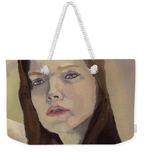 Portrait Of Ashley Weekender Tote Bag