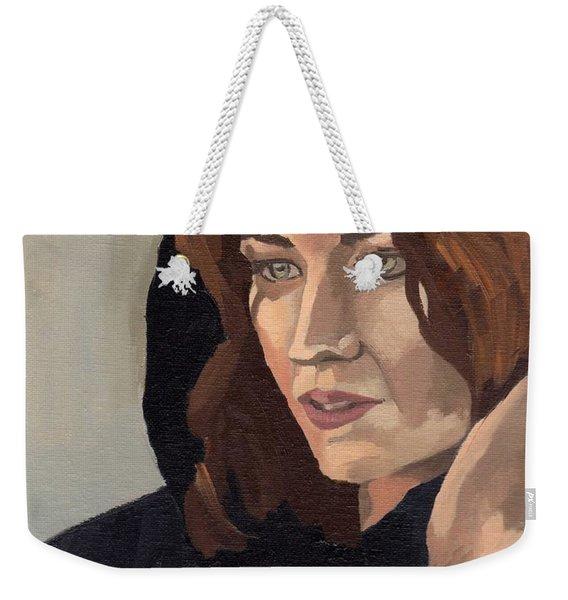 Portrait Of Becca 2 Weekender Tote Bag