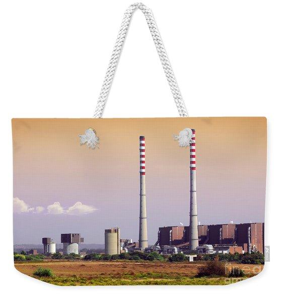 Power Plant Weekender Tote Bag