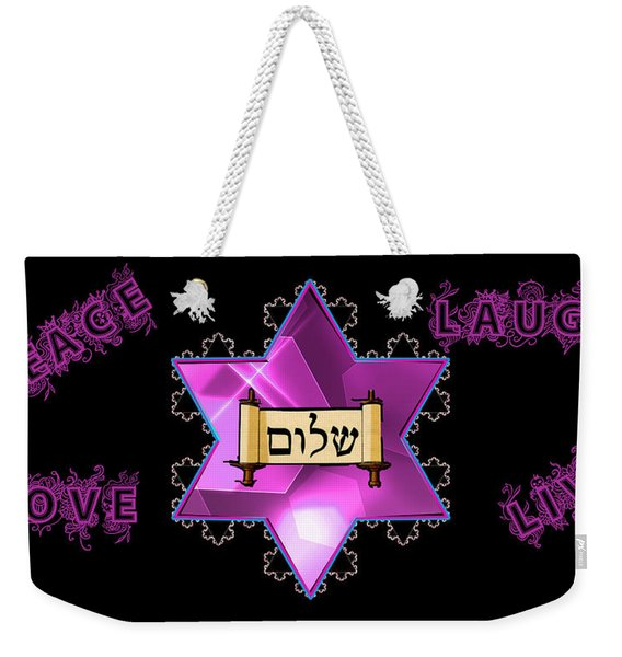 Prayers Weekender Tote Bag