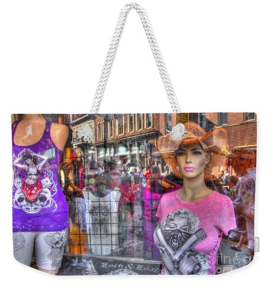 Pretty Pink And Dangerous Weekender Tote Bag