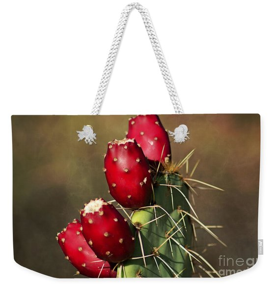 Prickley Pear Fruit Weekender Tote Bag