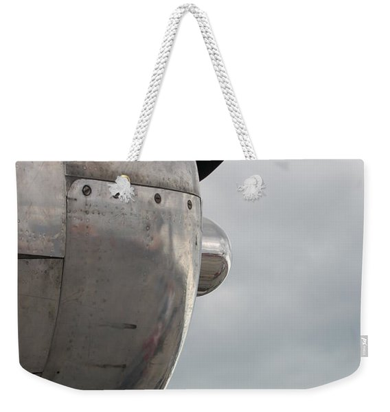 Prop In Sky Weekender Tote Bag