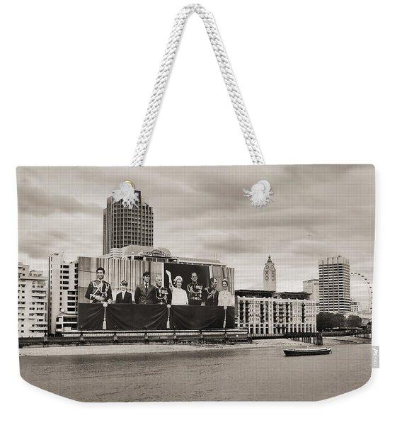 Queen's Greetings Weekender Tote Bag