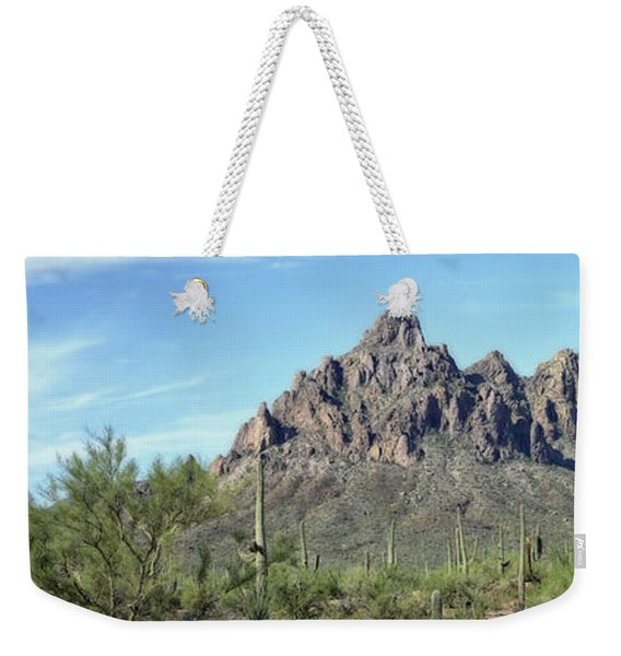 Ragged Top Mountain Panorama Weekender Tote Bag