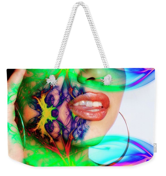 Rainbow Beauty Weekender Tote Bag