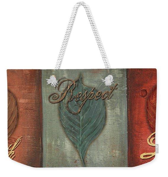 Rainbow Leaves 1 Weekender Tote Bag