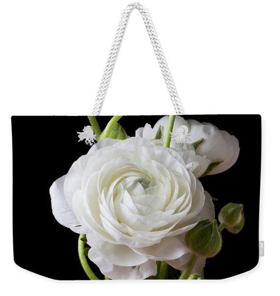 Ranunculus In Red Vase Weekender Tote Bag