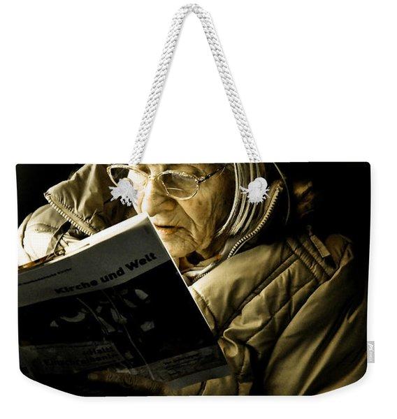 Reading Is Lifetime Passion Weekender Tote Bag