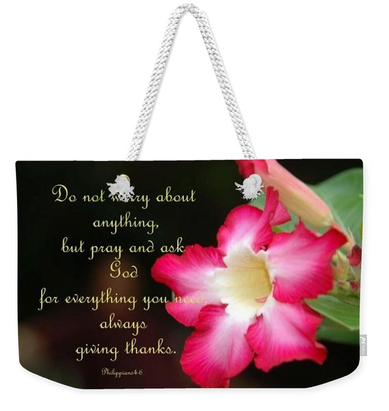 Weekender Tote Bag featuring the photograph Red Hibiscus by Cynthia Amaral