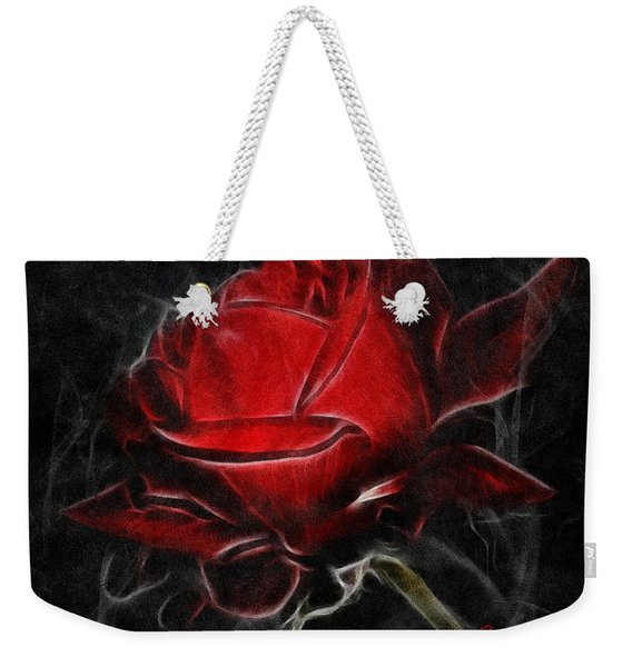 Red And Hot  Weekender Tote Bag